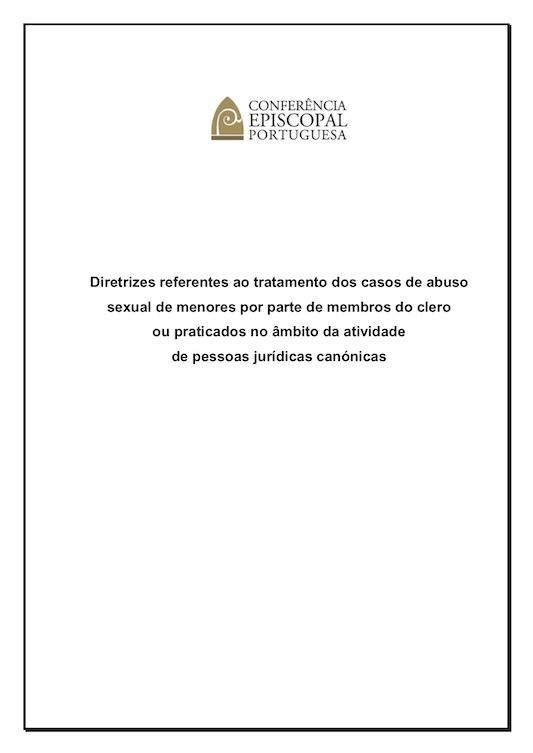 Diretrizes da CEP – Procedimentos de proteção de menores