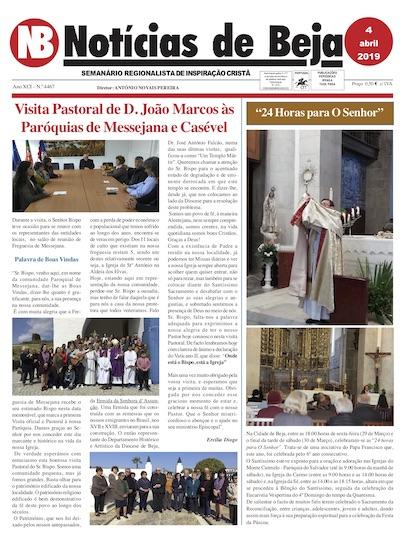Jornal Notícias de Beja 04 de Abril de 2019