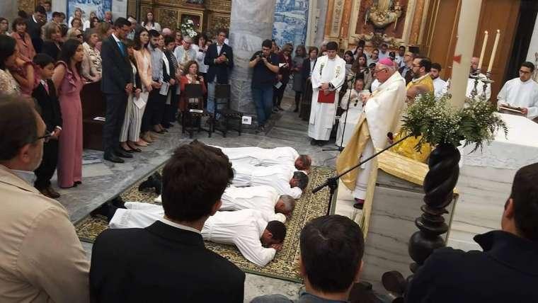 Ordenação de 4 diáconos permanentes para o serviço da Igreja, na Diocese de Beja