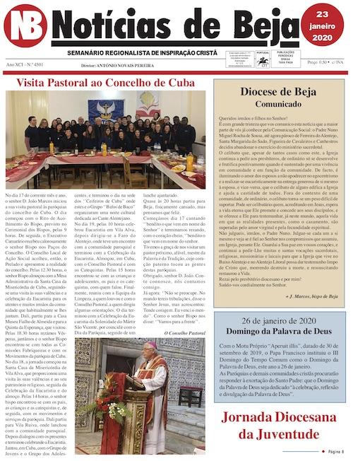 Jornal Notícias de Beja de 23 de Janeiro de 2020